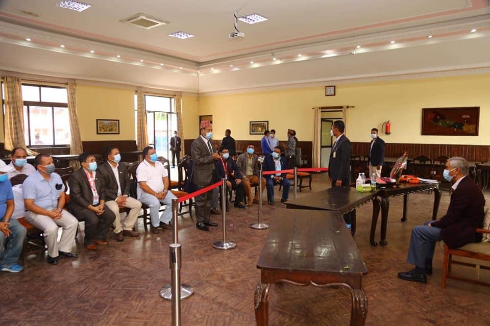 नेपाल सुनचाँदी ब्यवसायी महासंघ र गेटवे पेमेण्ट नेपाल वीच भुक्तानी सेवा सम्वन्धी सम्झौता ।