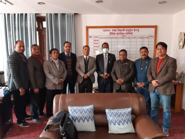 नेपाली गरगहनाको निर्यात प्रवद्र्धनकालागि शिप मूलक तालिममा जोड