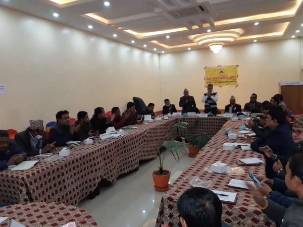 नेपाल सुनचाँदी ब्यवसायी महासंघको पहिलो पूर्ण वैठक सम्पन्न